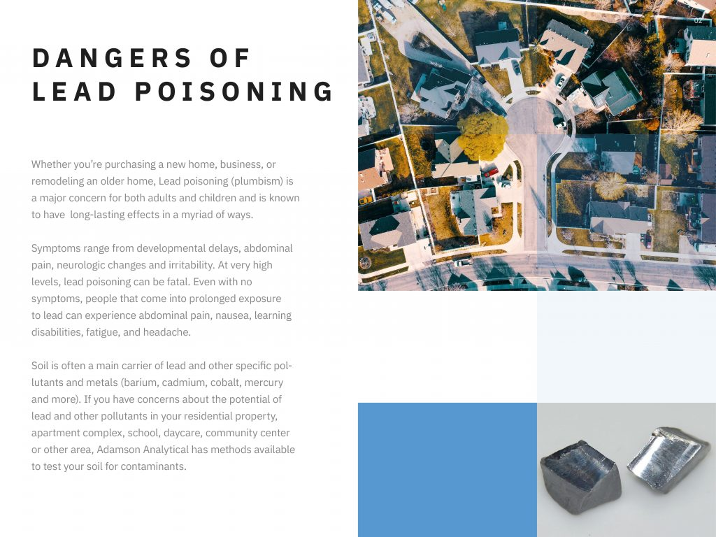 Dangers of Lead poisoning